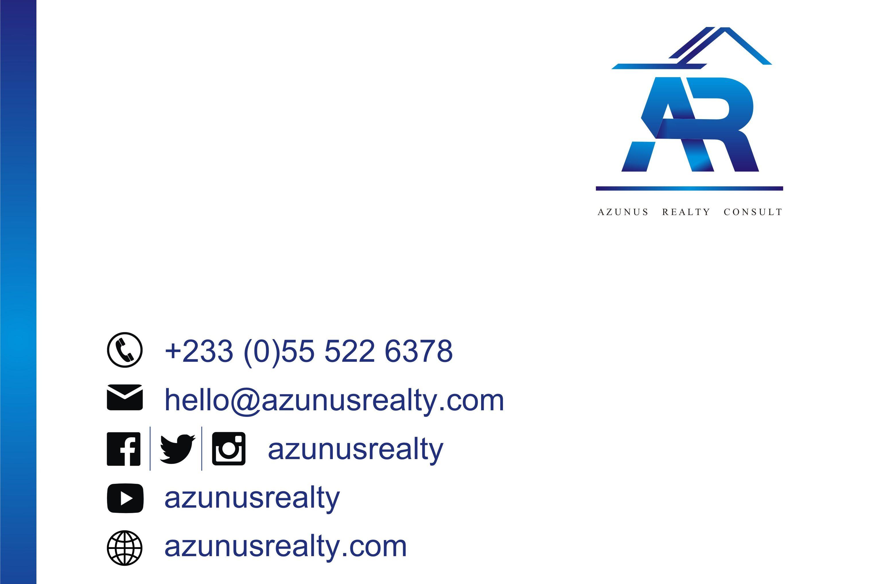 Azunus Realty Consult Ad